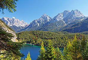 Озеро в Альпах,Австрия 300242