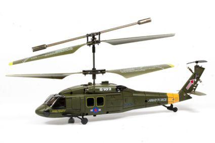 Вертолет радиоуправляемый UH-60 SYMA S102G Черный Ястреб