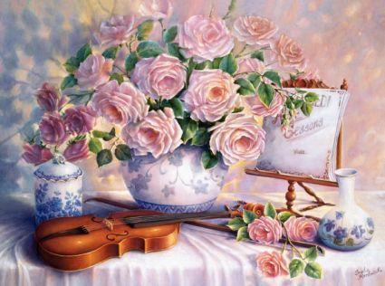 Вечерние розы 300341