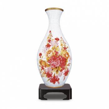 Пазл 160 деталей Ваза 3D + стакан Розы Pintoo (1008S)