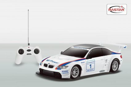 ЛИЦЕНЗИОННЫЙ РАДИОУПРАВЛЯЕМЫЙ АВТОМОБИЛЬ BMW M3 GT2 48300