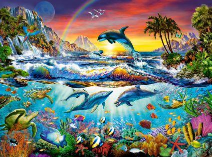 3000 деталей 300396 Райская бухта, Castor Land