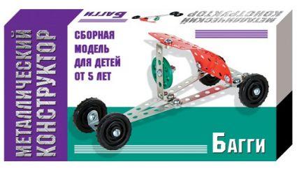 Металлический конструктор мини Багги 01562