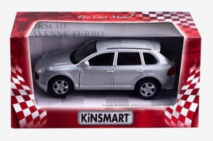 Модель 1:38 Porshe Cayenne Turbo Kinsmar KT5075W