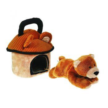 Домик-сумка с мишкой 15см 21-904902-1
