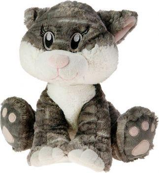 Кот Милаха серый 30см 25-13001-4