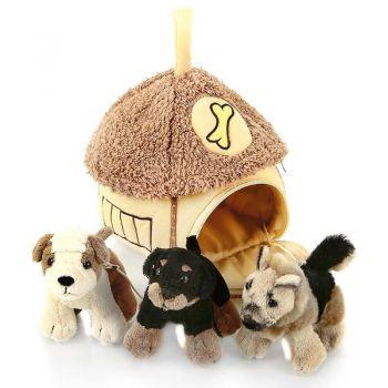 Домик с 3-мя собачками 21-912051