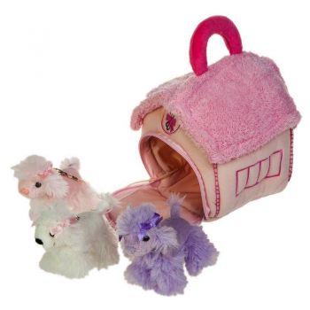 Домик-сумка с 3-мя пуделями 21-912091