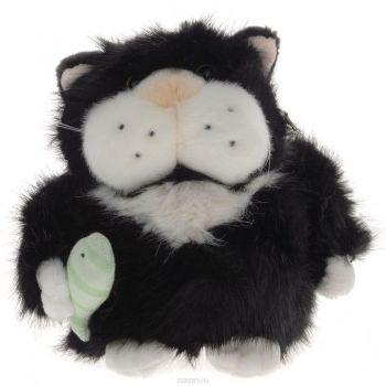 Кот Чернуля с рыбкой 24см 51-K41082A
