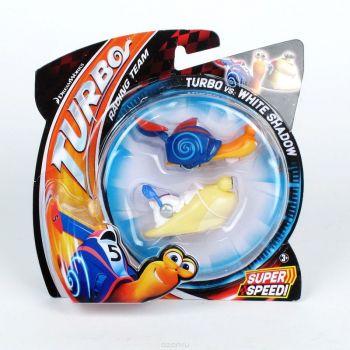 Mattel.Turbo Dreamworks набор их 2-х баз Y5751-DW16A
