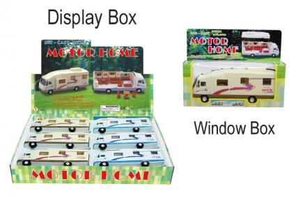 "А/м ""Дом на колесах"" 801, инерц, разбирающ кузов, 15 предметов мебели, 19.5 см, металл, пластик"