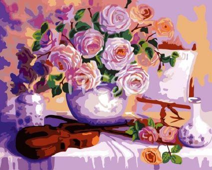 """Картины по номерам """"Утонченная красота"""" A324"""