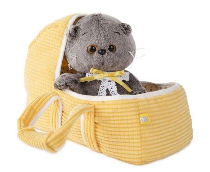 Басик BABY в люльке игрушка мягкая ВВ-002