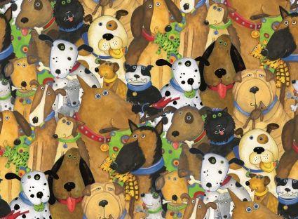 Пазл Ravensburger «Веселые собаки» 500 шт, арт. 14296