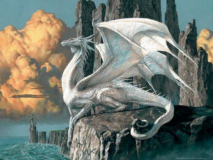 Пазл Ravensburger «Белый дракон» 1000 шт, арт. 15696