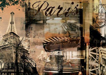 Пазл Ravensburger «Воспоминание о Париже» 1000 шт, арт. 15729