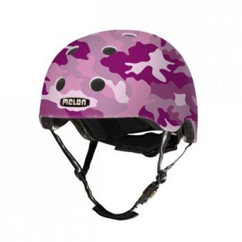 Шлем Melon Camouflage Pink