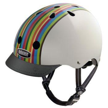 Шлем Nutcase Street Helmet Rainbow Stripe-S