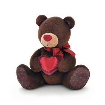 Плюшевый мишка Choco с сердцем 50см