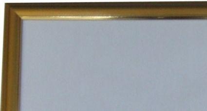 Рамка с пластиком 47*68 1000-1500дет. золотая ш/п 26мм