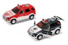 А/м спецслужба на батарейках 9970, 13 см, инерц, откр двери, звук сирены и двигателя, свет фар и мигалки